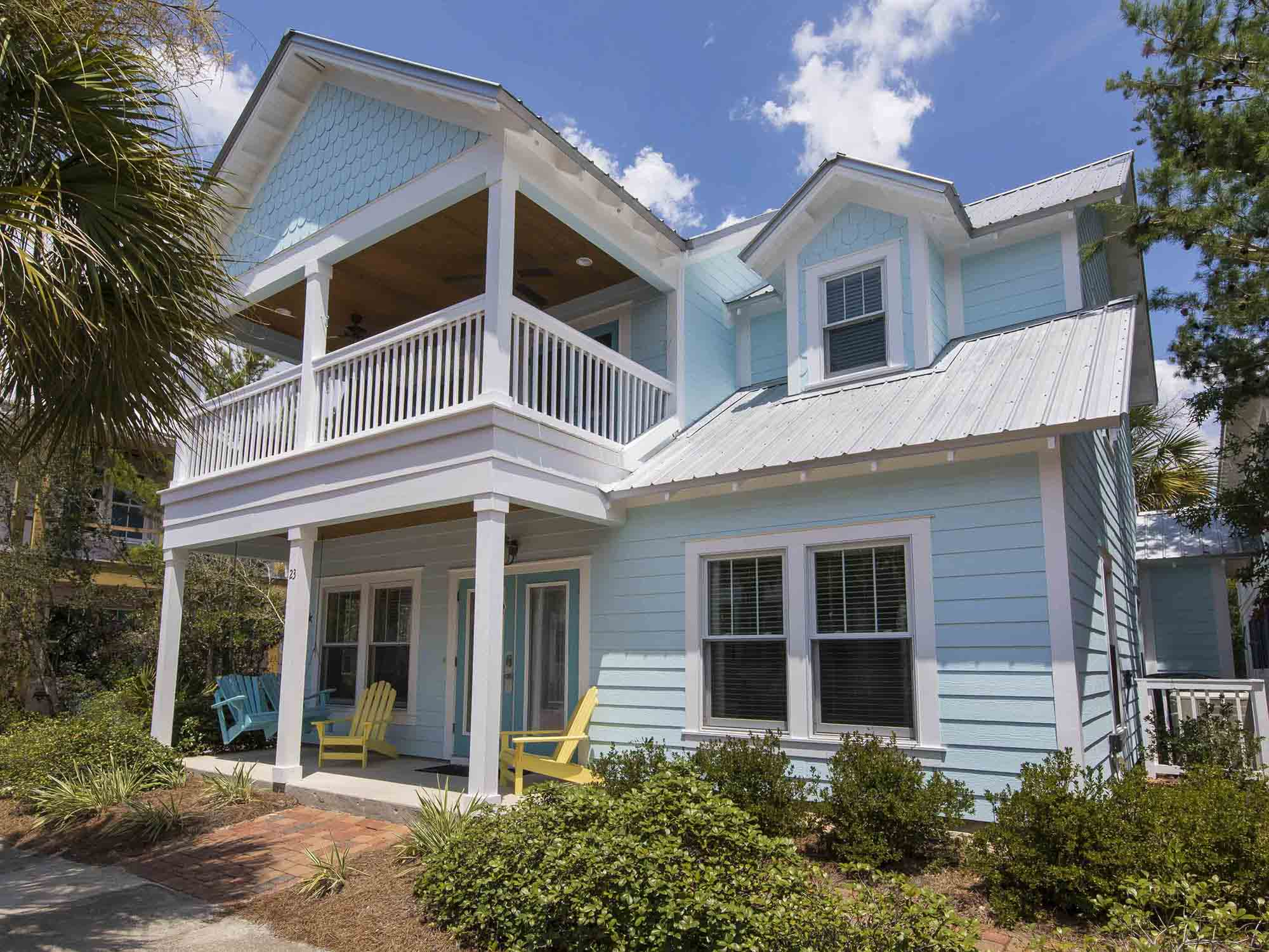 Blue Skies 30a Vacation Home In Seacrest Beach By Southern